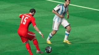 FIFA World Cup 2014: Argentina vs Switzerland (Round Of 16) Simulation (EA FIFA World Cup 2014)