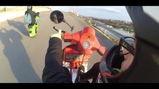 ADDIO PICCOLA MIA.... (Vespa Wheelies EDIT)-/Ultimo video in VESPA/