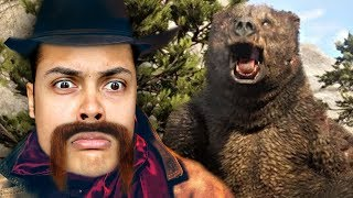 EATEN BY THE LEGENDARY BEAR (Red Dead Redemption 2)