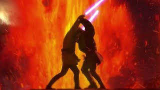 Lego Star Wars Episode 3:Anakin vs Obi Wan