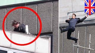 Tom Cruise terluka saat beraksi untuk Mission Impossible 6 - TomoNews