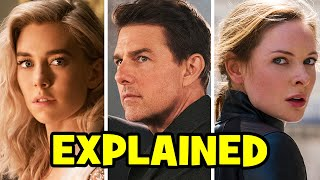 Every MISSION IMPOSSIBLE 6 Connection + Ending Explained!