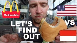 is MCDONALD'S in INDONESIA the same as AMERICA?