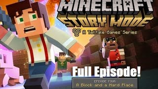 Minecraft Story Mode : Episode 4 Full Episode ( No Commentary )
