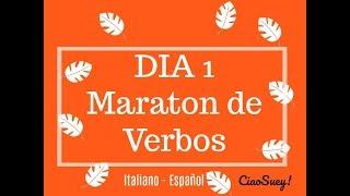DIA 1 - Maraton de verbos en Italiano AVERE