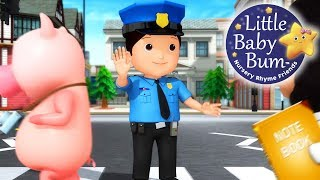 Police Song | Nursery Rhymes for Kids | Original Songs By LittleBabyBum!