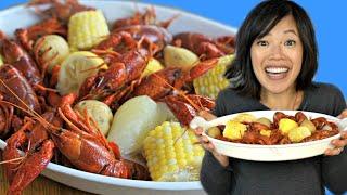 How to Cook Up a Cajun CRAWFISH BOIL & an Étouffée Recipe | Crayfish Prepared 2 Ways