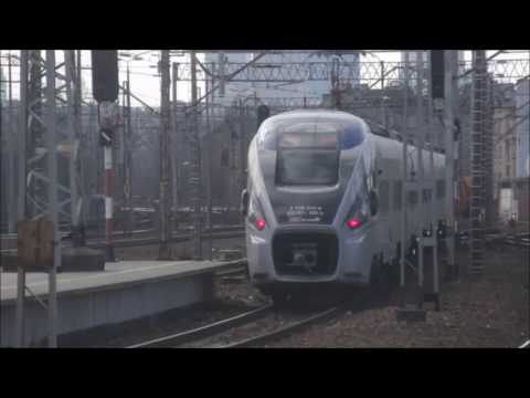 Składanka kolejowa ze stacji Warszawa Wschodnia