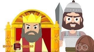 Goliath threatens Saul I Stories of David I Animated Children