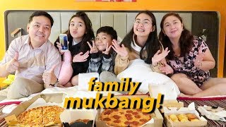 MUKBANG + q&a with the family!   Princess And Nicole