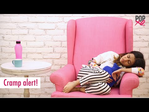 Girls On Their Periods | Things Girls Do During