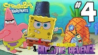 SpongeBob SquarePants Plankton's Robotic Revenge Walkthrough - PART 4 - Goofy Goober Ethan!