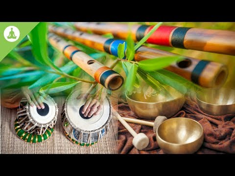 Flute Tabla and Tibetan Bowl Pure Positive Vibes Morning Meditation Stress Relief