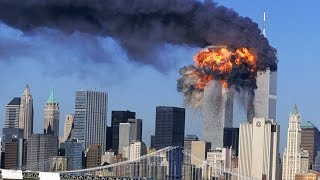 9/11 world trade center attack real footage