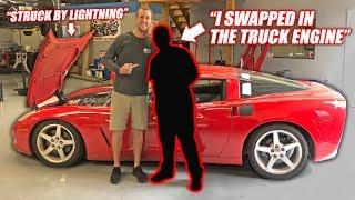 We Found the Auction Corvette