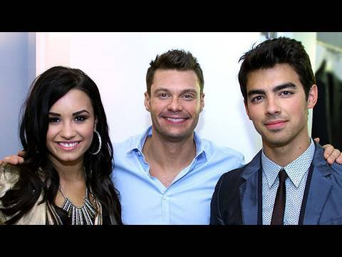 First Interview As a Couple Joe Jonas & Demi Lovato Interview On Air With Ryan Seacrest
