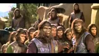 El planeta de los simios tráiler en castellano