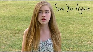 quotSee You Againquot -  Wiz Khalifa Ft Charlie Puth Cover by Samantha Potter