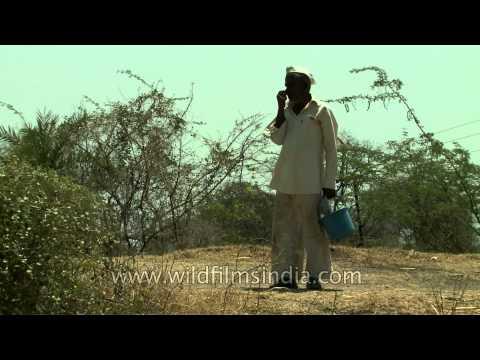 Manegaon village has no access to water