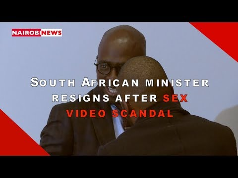 Xxx Mp4 South African Minister Resigns After Sex Video Scandal 3gp Sex