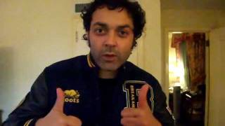 Bobby Deol wishes Vinay Virmani good luck for Speedy Singhs