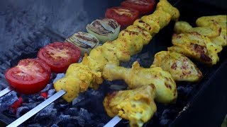 Authentic joojeh kabab - Persian Chicken kabob - Old Fashioned Iranian kebab