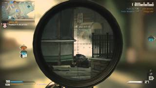 Call of Duty Ghosts | USR Sniper Gameplay + 60 kills