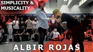Archie - Na Minha Cabeca / Albir Rojas & Anja Musical Kizomba Dance  @ Fusion Kizomba Roma 2017