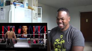 WWE 2K16 - Oh Hell Yeah Gameplay Trailer REACTION!!!