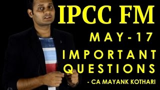 MAY 17 - IPCC FM IMPORTANT QUESTIONS | Download from Conferenza.in/Downloads