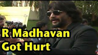 R Madhavan Got Hurt In Real On Saala Khadoos Shoot | Actress Ritika Singh Real Boxer