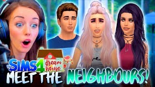 🙋MEET JESSY'S NEW NEIGHBOURS!🙇 (The Sims 4 #33! 🏡)