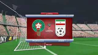 Morocco against Iran World Cup 2018 World Tour Pace 2017