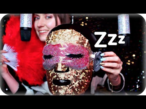 Xxx Mp4 ASMR Sleepy Head 😴 Crunchy Sticky Oil Ear Massage Konjac Sponges Face Mask Brushing Crinkles 3gp Sex