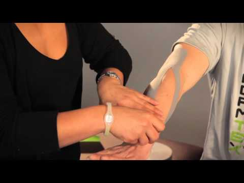 PerformTex Tape.  How To Tape for Tennis Elbow