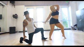 "Shakira ""La Tortura"" Dance Routine"