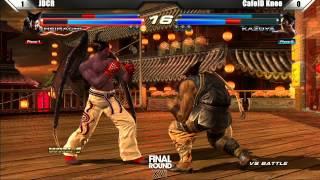 Tekken Tag Tournament 2 Grand Finals JDCR vs CafeID Knee - Final Round XVI