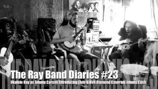 Johnny Carson w/Elvis & Neil Diamond doing Johnny Cash?