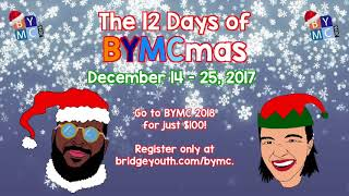 12 Days of BYMCmas