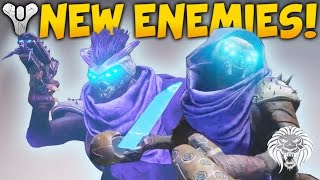 Destiny 2: NEW ENEMIES & FACTIONS! Hive Shrieker Boss, SIVA Returns, Flying Knight & Fallen House