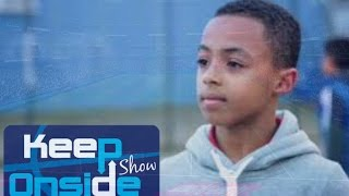 Young Footballers talk Academy players AFC Omari Hutchinson & THFC  Beau Booth discuss football