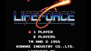 Life Force / Salamander (Nes) - No Death Run