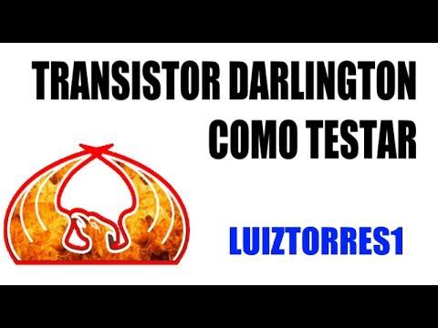 COMO TESTAR UM TRANSISTOR DARLINGTON
