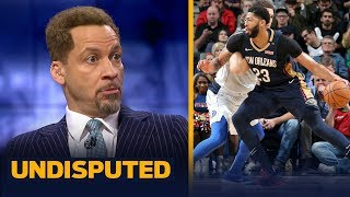 Chris Broussard: Pelicans 'are not giving Anthony Davis to Lakers by tomorrow' | NBA | UNDISPUTED
