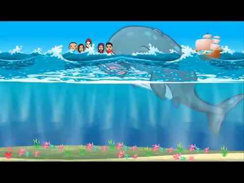 LA BIBLIA PARA NIÑOS La Historia de Jonás Completa para Niños Completo