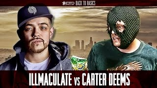 KOTD - Rap Battle - Illmaculate vs Carter Deems