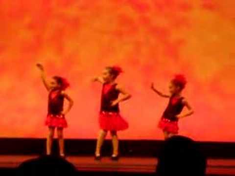 As dançarinas de sapatiado