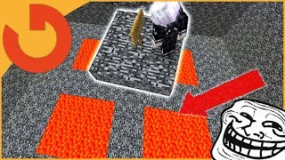 HACKER FORCED LAVA PITS OR PERM BAN! (Catching Hacker Games)