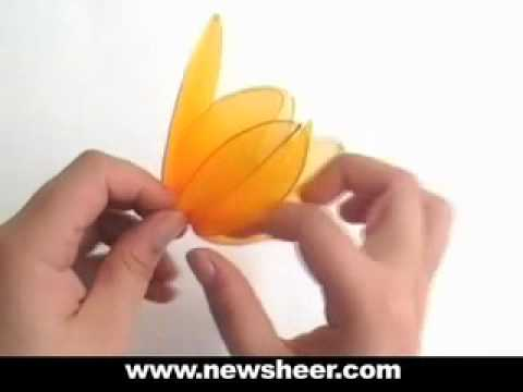 How to Make Nylon Flower Stocking flower Tulip Wedding flower