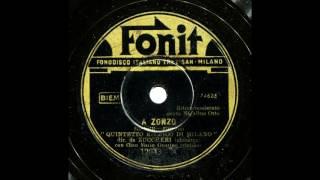 A Zonzo - Quintetto Ritmico di Milano, refrain: Natalino Otto